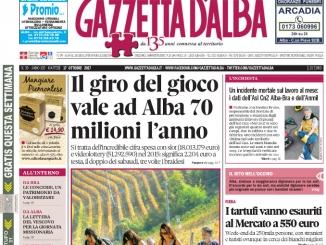 La copertina di Gazzetta di martedì 17 ottobre