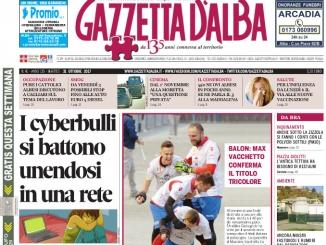 La copertina di Gazzetta in edicola martedì 31 ottobre