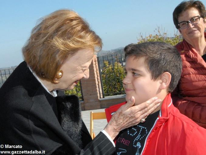 Signora Ferrero e figlio Marello 1