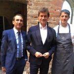 Le riprese del nuovo programma di Alberto Angela anche al castello di Grinzane