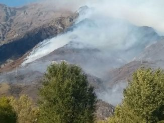 Brucia il Piemonte: fiamme nel cuneese. Persone evacuate in Val di Susa