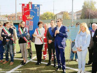 Inaugurato a San Damiano il complesso sportivo. La struttura è costata 400mila euro