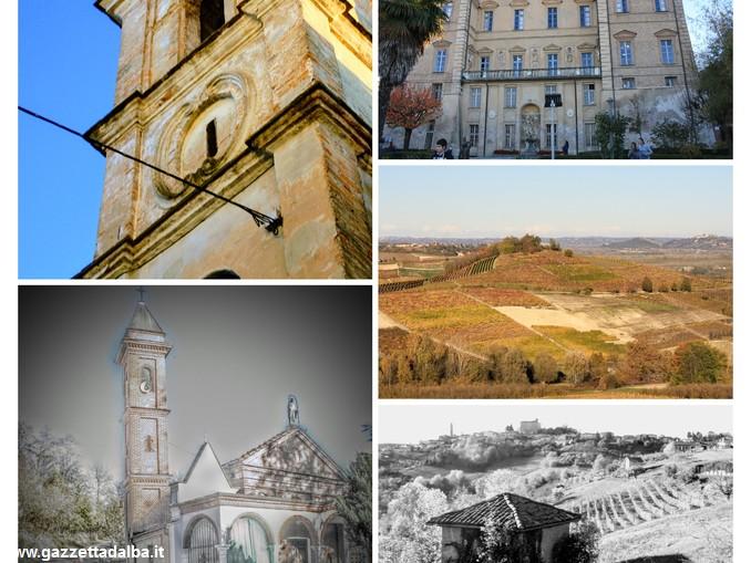 collage immagini Govone