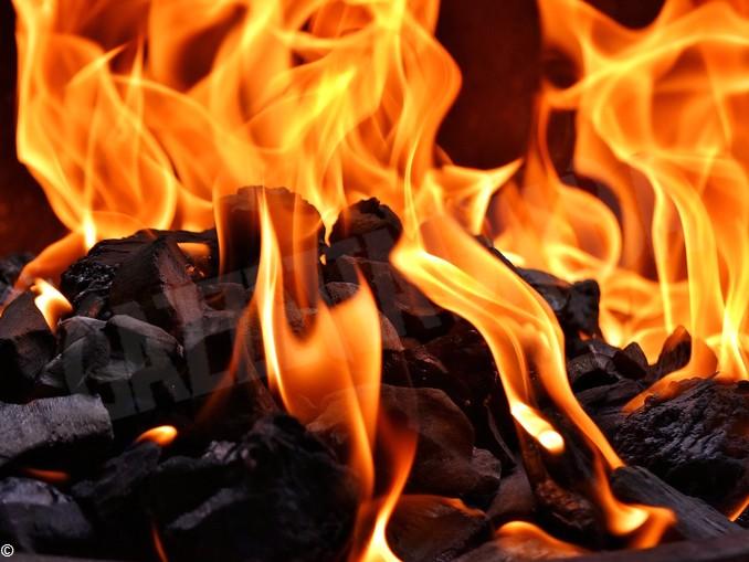 fuoco carbone