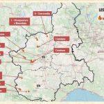 Continua l'emergenza, 11 gli incendi attivi in Piemonte