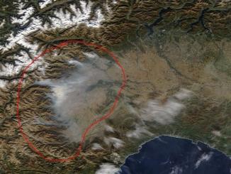 Datameteo: ancora foschie e smog per una settimana