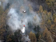 Nel Cuneese bruciate vaste zone delle valli Stura e Varaita 1