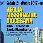 L'invito del Vescovo alla veglia missionaria