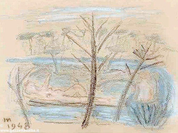 Da De Pisis a Pasolini, apre la mostra tra pittura e poesia 1