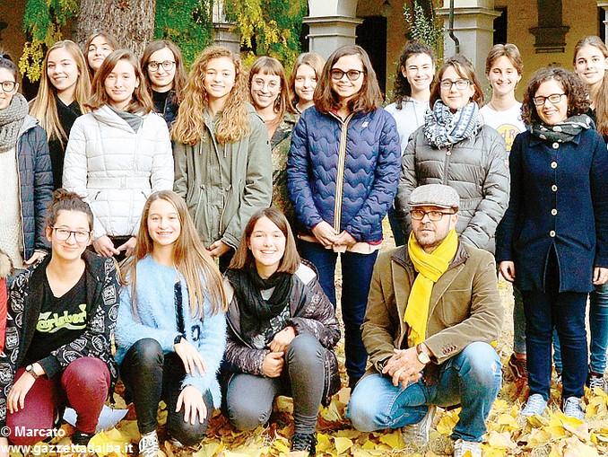 Coro liceo Govone
