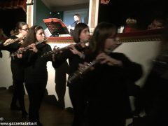 I flautisti albesi della Pertini in concerto al Teatro dei rinnovati di Siena 10