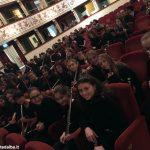 I flautisti albesi della Pertini in concerto al Teatro dei rinnovati di Siena