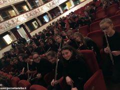 I flautisti albesi della Pertini in concerto al Teatro dei rinnovati di Siena 19