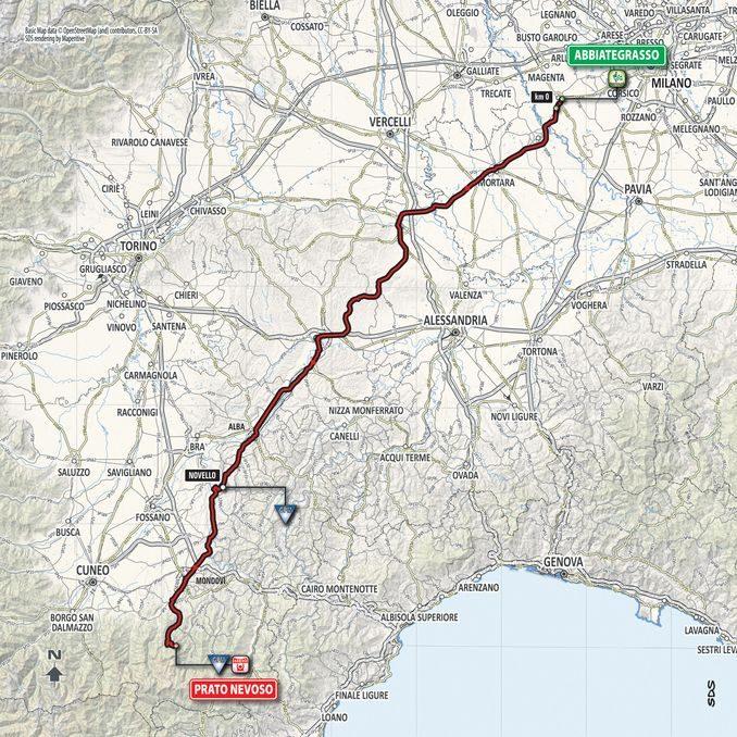 Il Giro d'Italia 2018 passerà anche ad Alba
