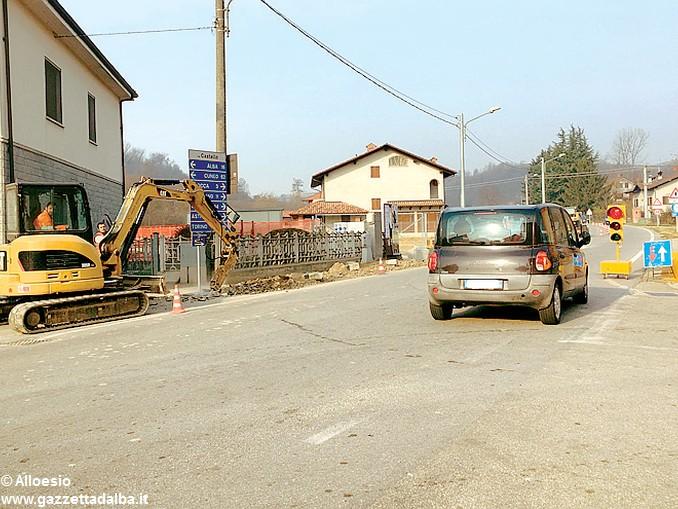 Govone lavori stradali