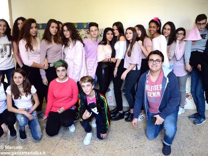 Liceo Da Vinci pink day contro la violenza sulle donne (10)