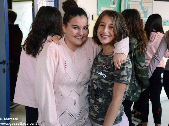 Liceo Da Vinci pink day contro la violenza sulle donne (13)