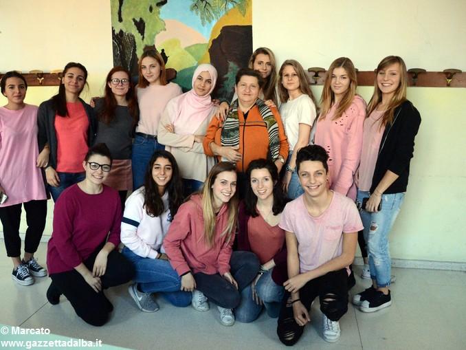Liceo Da Vinci pink day contro la violenza sulle donne (14)