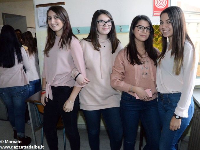 Liceo Da Vinci pink day contro la violenza sulle donne (19)