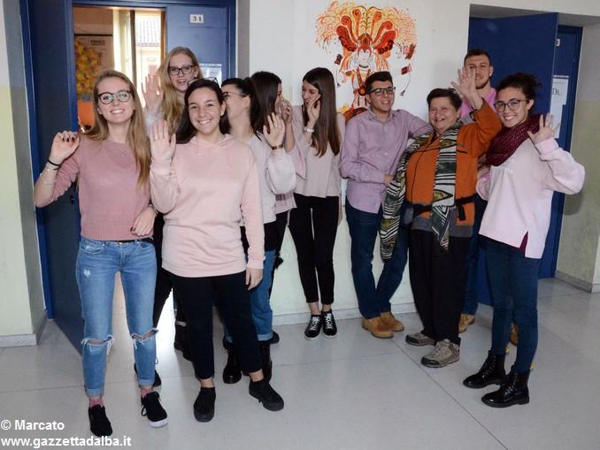 Liceo Da Vinci pink day contro la violenza sulle donne (26)