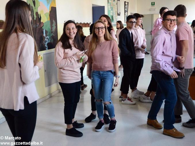 Liceo Da Vinci pink day contro la violenza sulle donne (29)