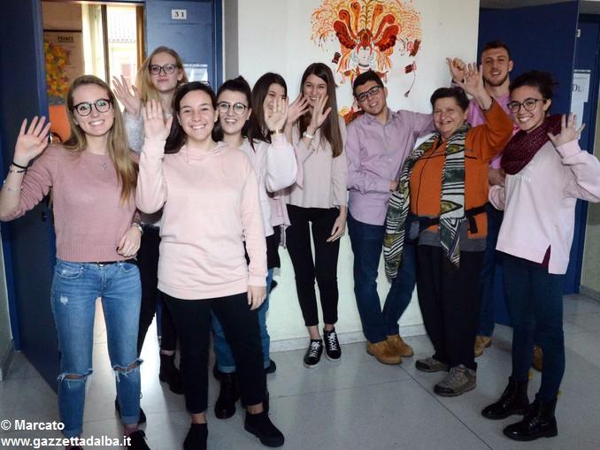 Liceo Da Vinci pink day contro la violenza sulle donne (30)