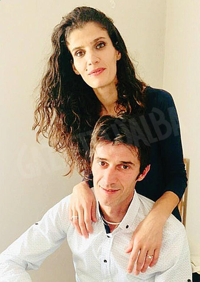 Mondi Zefi con la moglie Elmira