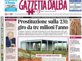 La copertina di Gazzetta in edicola martedì 7 novembre