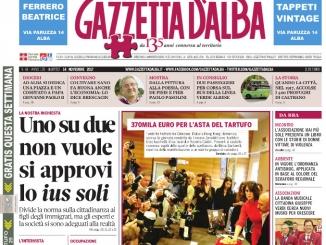 La copertina di Gazzetta in edicola martedì 14 novembre