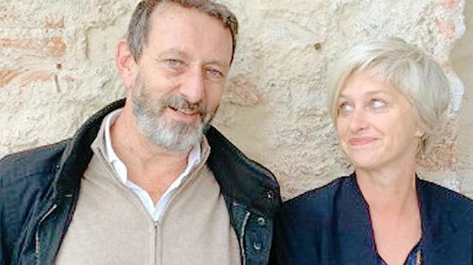 Michele Serra e Giovanna Zucconi ospiti a Fontanafredda