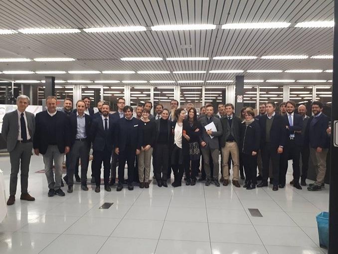 I giovani imprenditori piemontesi in visita alla Tcn/Bianco