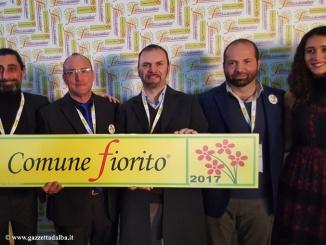 """Alba vittoriosa al concorso nazionale """"Città fiorite 2017"""""""