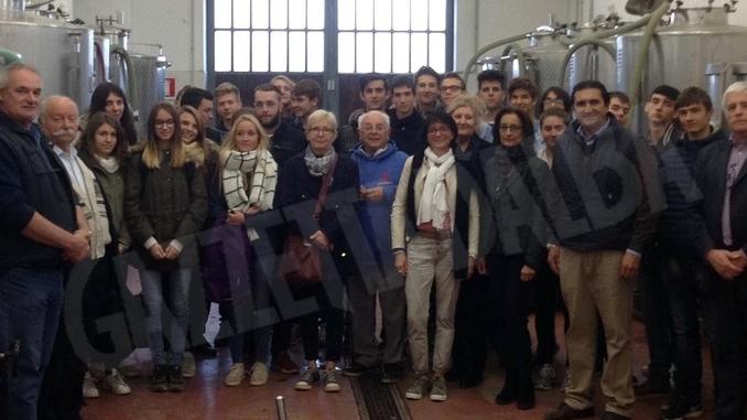 Studenti di agraria francesi in visita all'istituto Penna di Asti