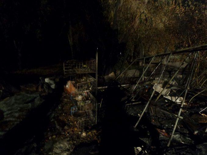 Alba: domato dai vigili del fuoco un incendio nei pressi del cimitero