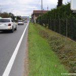 Alba: iniziano i lavori per la realizzazione del marciapiede in corso Canale