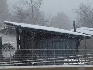 Neve a Niella Belbo e in gran parte dell'Alta Langa. Già caduti 73 cm a Entracque