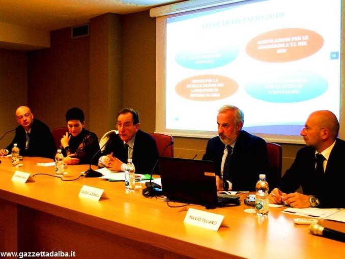 All'Associazione commercianti albesi incontro con Massi e Lazzarelli, esperti delle norme sui rapporti di lavoro 1