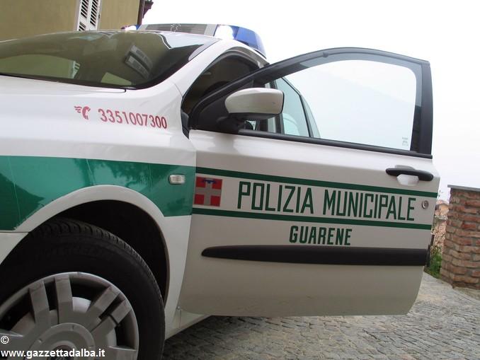 polizia locale guarene