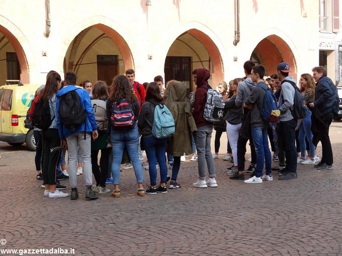scambio studenti liceo classico Govone – Avignone