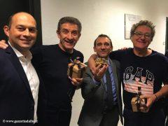 """Marco Scuderi e Luca Sensibile ospiti di """"Striscia la notizia"""" per parlare dell"""