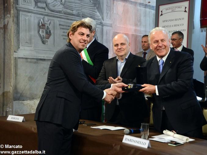 CAMERA DI COMMERCIO PREMIAZIONE Giuseppe Miroglio 13