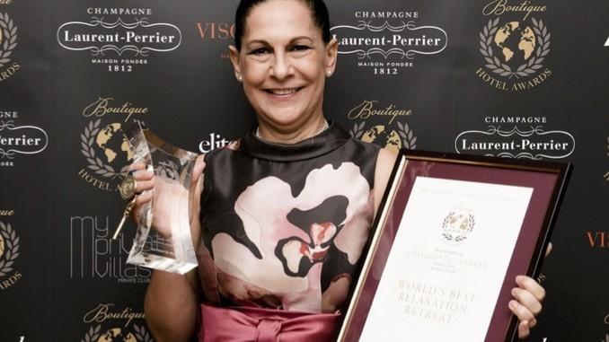 L'hotel Castello di Guarene  insignito del riconoscimento come migliore al mondo