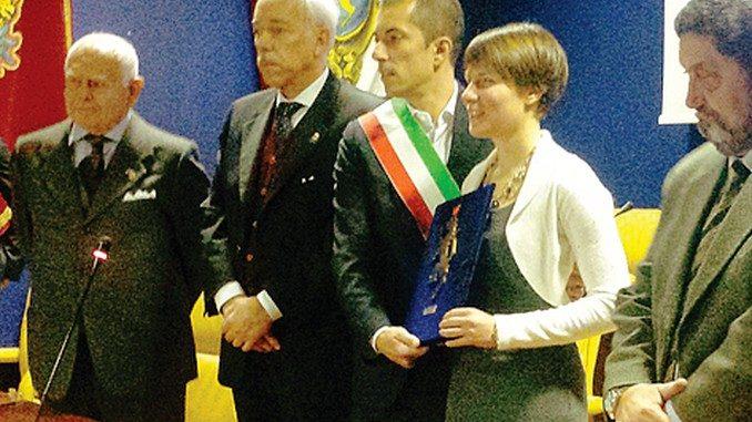 Cecilia Camellini canellese onoraria: emozionata come alle Olimpiadi