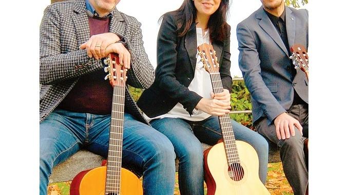 Le chitarre di Colla, pasini e Giacobbe chiudono la stagione da camera del Rocca
