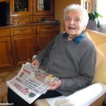 Addio a nonna Genia, 106 anni, storica abbonata di Gazzetta d'Alba