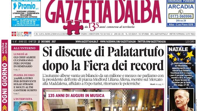 La copertina di Gazzetta in edicola martedì 12 dicembre