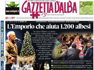 La copertina di Gazzetta in edicola martedì 19 dicembre