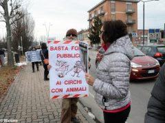 Manifestazione contro il circo con gli animali