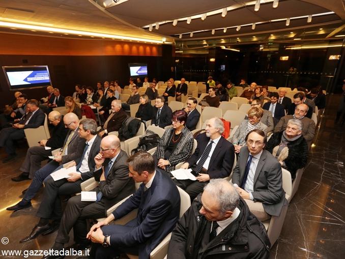 Pubblico conferenza stampa acceleratori