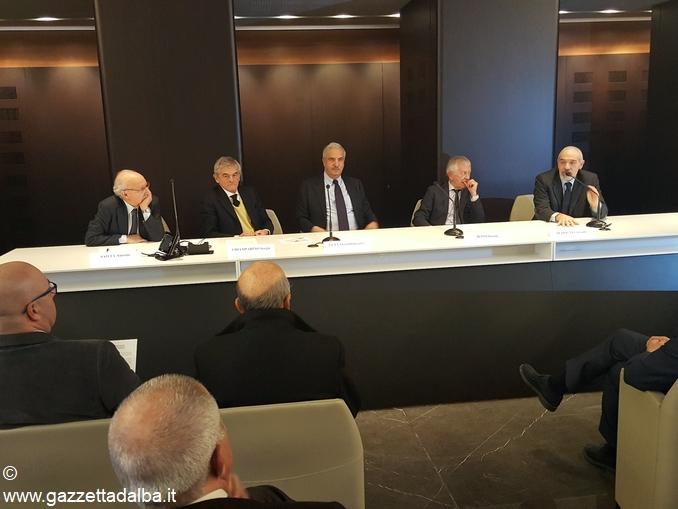 Relatori conferenza stampa